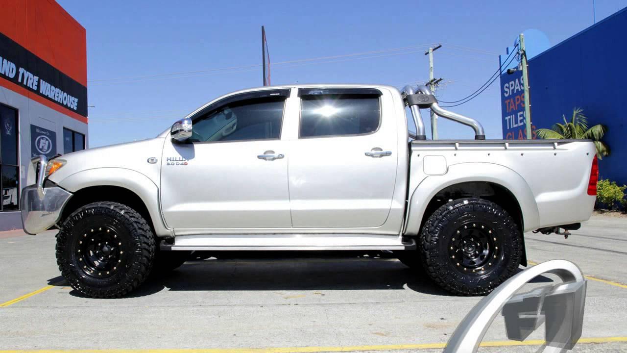 Toyota Hilux Custom Rims Nitto Trail Grler 285 75r16 Tires You