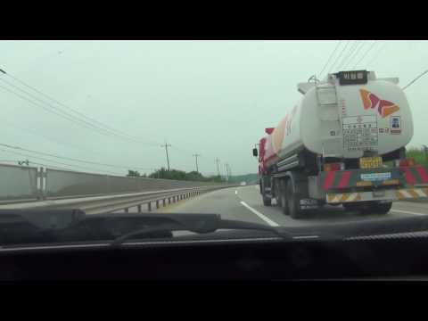 [Timelapse] Seoul - Yeosu Toll Free Route Drive Part 2: Unda