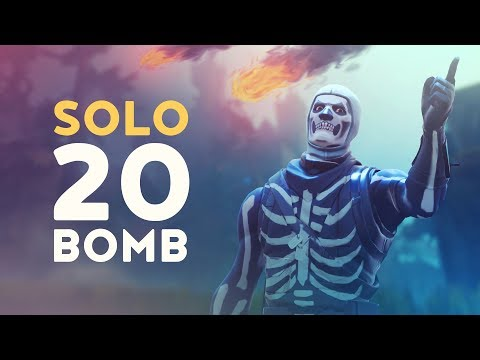 SOLO 20 BOMB - INSANE DUSTY DIVOT BATTLES! (Fortnite Battle Royale - Dakotaz)