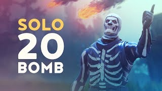 SOLO 20 BOMB - INSANE DUSTY DIVOT BATTLES! (Fortnite Battle Royale - Dakotaz)