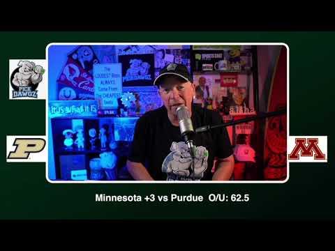 Minnesota vs Purdue 11/20/20 Free College Football Picks and Predictions CFB Tips Pick Dawgz