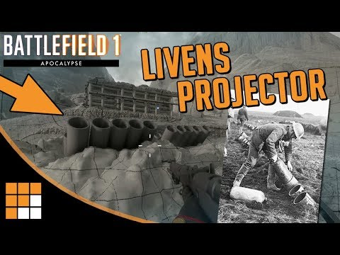 GAS! New Livens Projector Stationary Weapon Coming With Battlefield 1 Apocalypse DLC