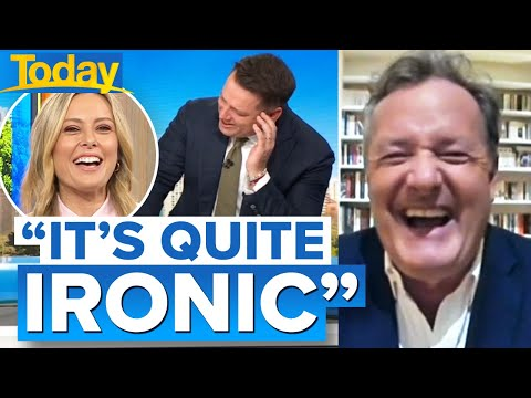 Piers Morgan reacts to royal baby news | Today Show Australia