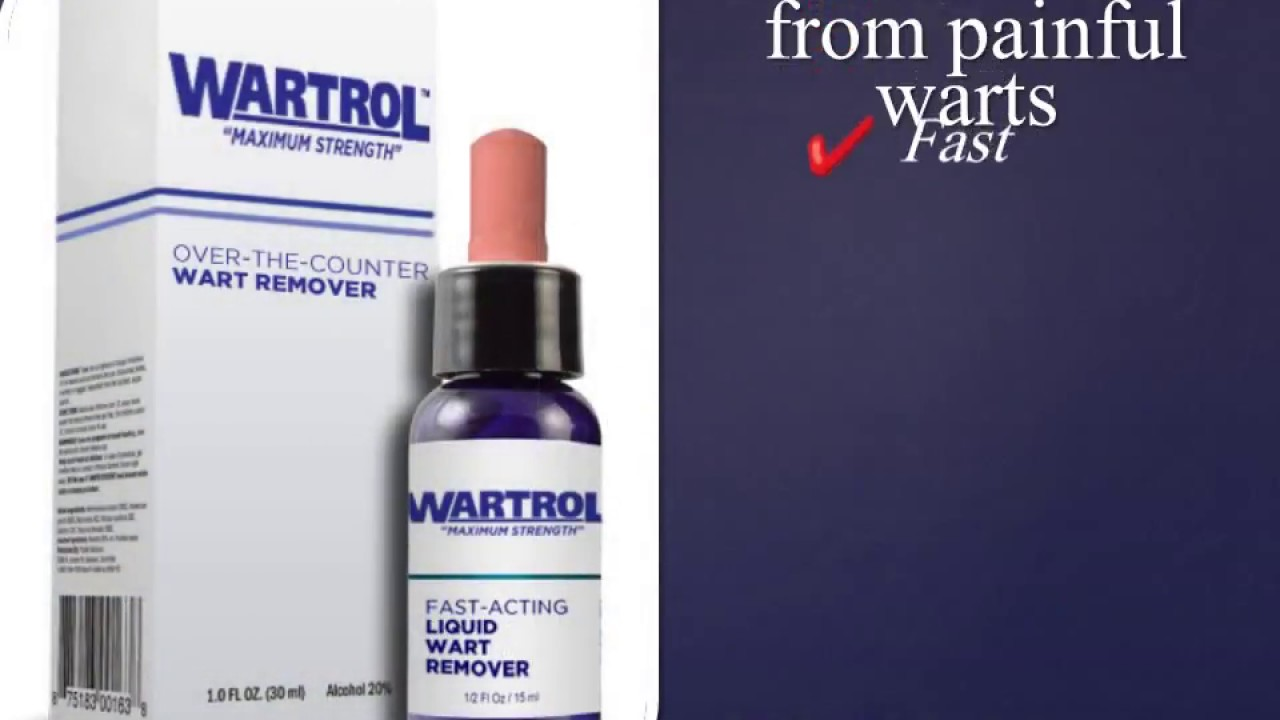 Buy Wartrol Cure Warts Now Youtube