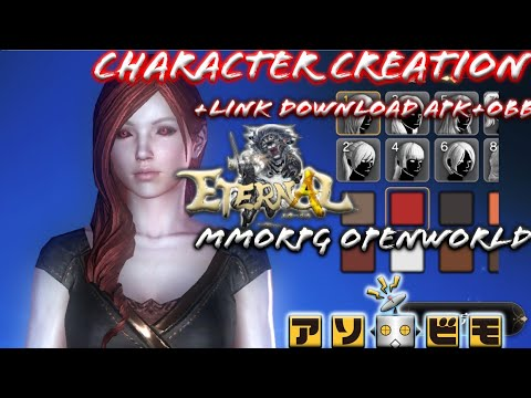 Eternal [JP] MMORPG Open World By Asobimo - Character Creation Official CBT Gameplay + Link Download