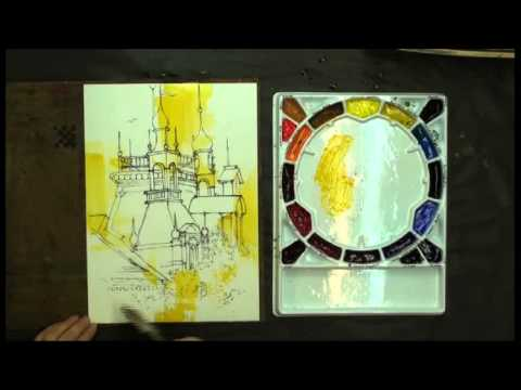 Preview | Watercolor Without Boundaries with Karlyn Holman, Part 2