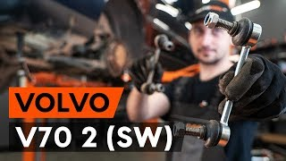 Så byter du bak stabilisatorstag / krängningshämmarstag på VOLVO V70 2 (SW) [AUTODOC-LEKTION]