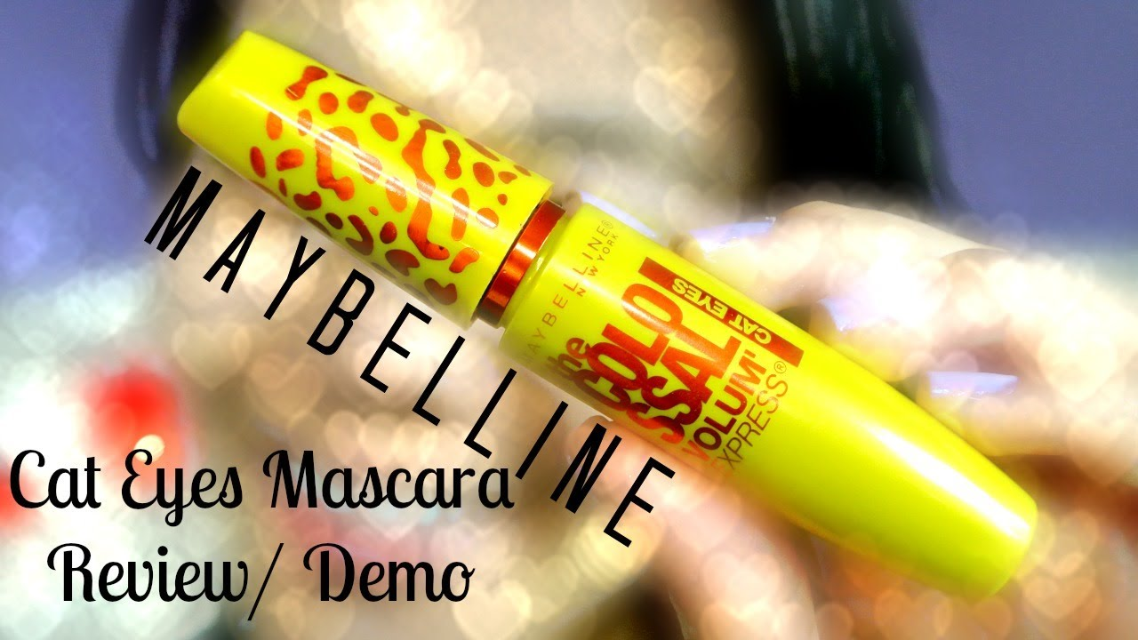 1f9e8c1e171 MMM}: Maybelline Colossal Volum' Express CAT EYES Mascara Review ...