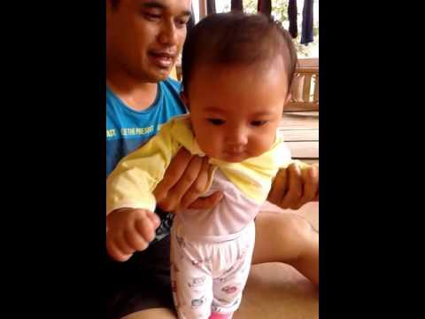 bayi lucu kap kap udang