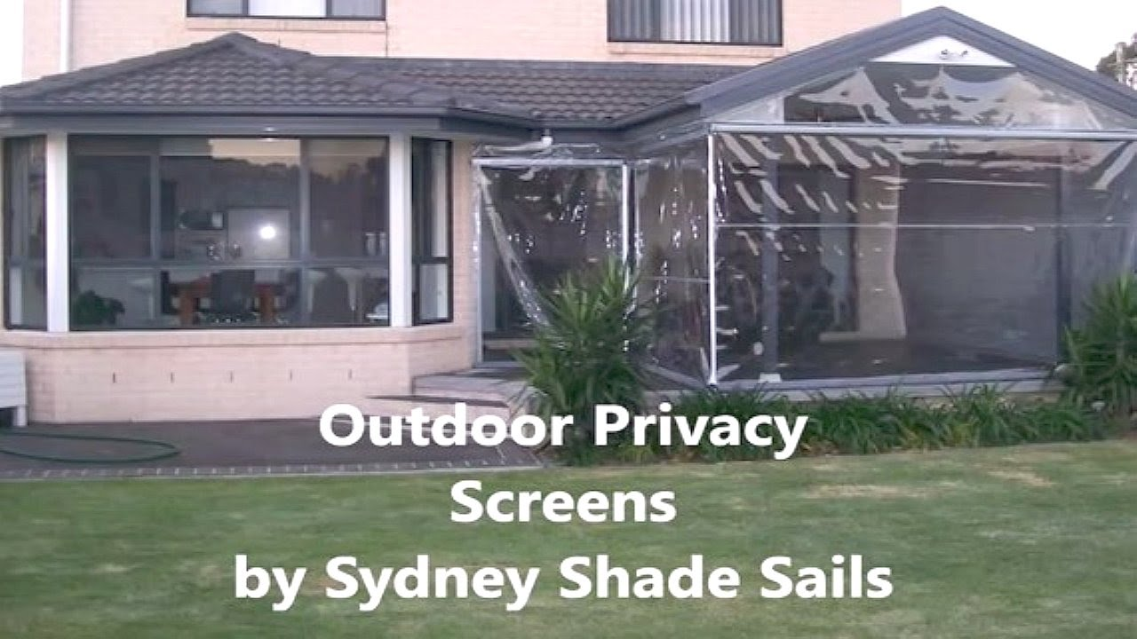 Outdoor Privacy Screens 02 9592 0401 Sydney Shade Sails YouTube
