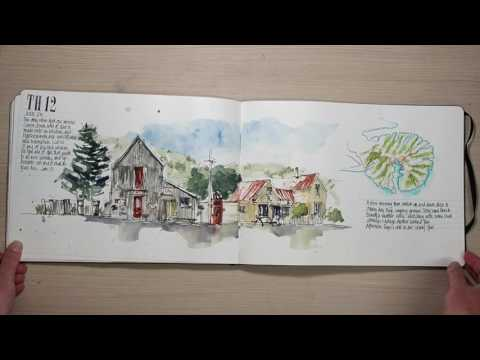 NewZealand Travel Sketchbooks