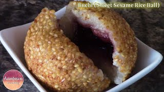 Buchi (sweet Sesame Rice Ball)