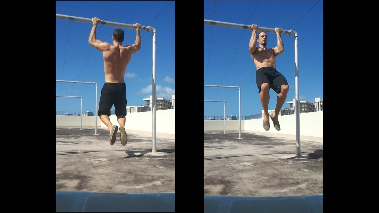 Hanging Chair Outdoor Cover Rental Grand Rapids Mi How To Do Beginner Pull Ups And Chin Training Tutorial - Youtube