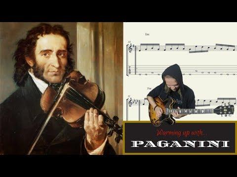 Warming up with    Niccolò Paganini (Violin Virtuoso)