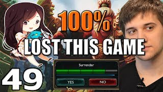 Arteezy - Best Moments #49 - 100% LOST THIS GAME ft AS*SHOLE WEAVER
