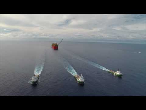 Watch: Prelude FLNG is home