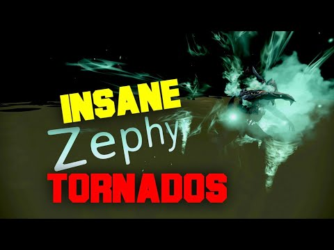 Zephyr Tornados Have INSANE DAMAGE - Warframe