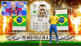 OMG!! I PACKED PELE!!!! 10x MID OR PRIME ICON PACKS!! FIFA 21