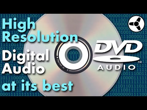 DVD-Audio: High-Resolution Digital Audio at its Best