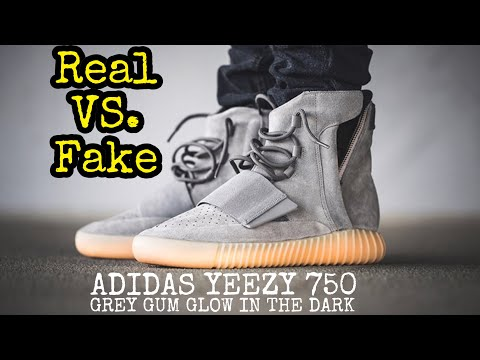 "BEST Real vs. Fake // Yeezy 750 ""Grey Gum"""