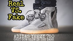 "b7c071218 BEST Real vs. Fake    Yeezy 750 ""Grey Gum"" - Duration  5 04."