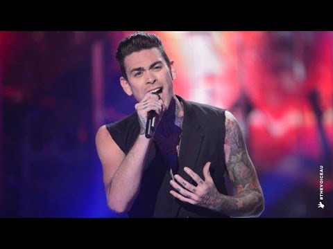 Matthew Garwood sings Mama | The Voice Australia 2014