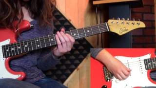 """Chelsea Constable - Signature Tone/Lesson - """"Sultans of Swing""""  By Mark Knopfler/Dire Straits"""