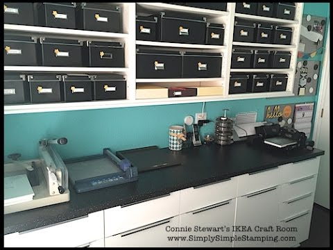 Design & Construction Tips for building an Ikea Craft Room by Rich Stewart