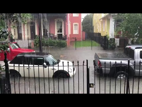 Heavy flooding reported across New Orleans area