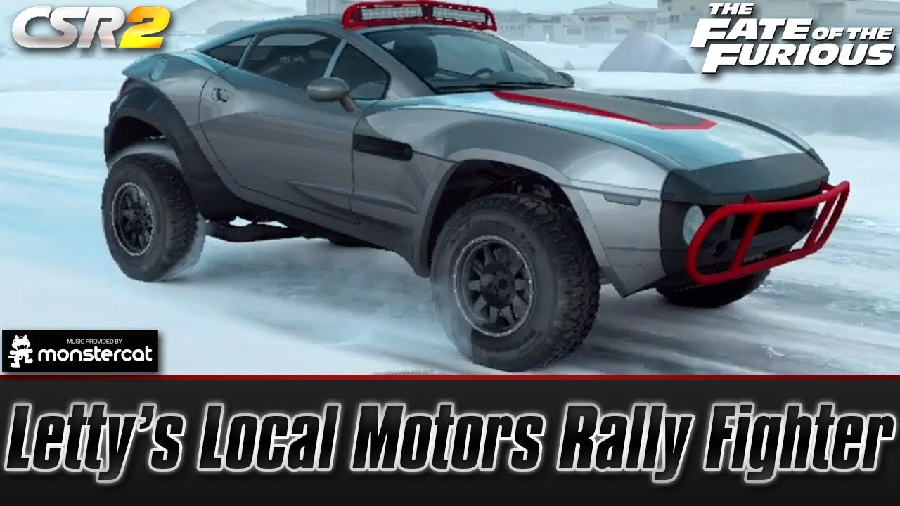 Local Motors Rally Fighter >> Csr Racing 2 Letty S Local Motors Rally Fighter The Fate Of The