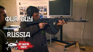 Guy Tries Out A Kalashnikov - Our Guy In Russia | Guy Martin Proper