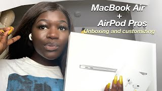 MacBook Air 2020 + AirPodsPros Unboxing