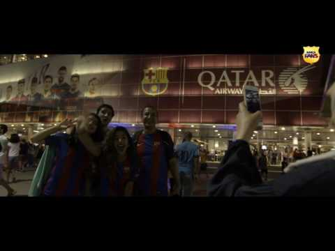 Behind the scenes: the new voice of Camp Nou