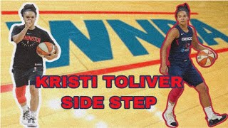 UNGUARDABLE الفصل كرة السلة تتحرك لخلق الفضاء! كيفية: كريستي توليفر الجانب خطوة (نبا)
