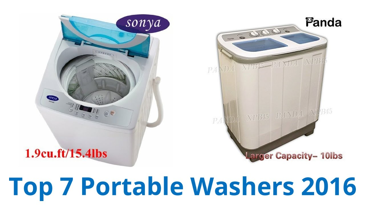 7 Best Portable Washers 2016 - YouTube