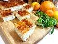 Поделки - Пирог с  творогом! Вкусный десерт из слоёного теста и творожного суфле с ароматом  мяты!
