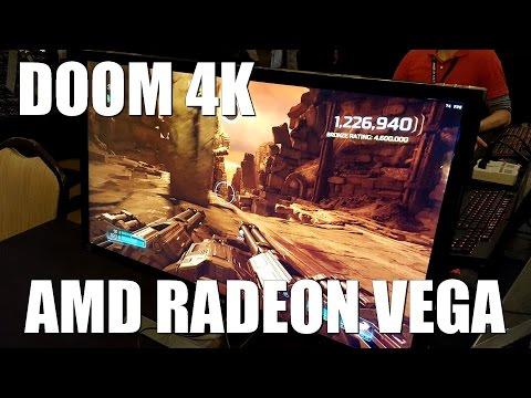 Doom 4K (Vulkan) on AMD Radeon Vega 64
