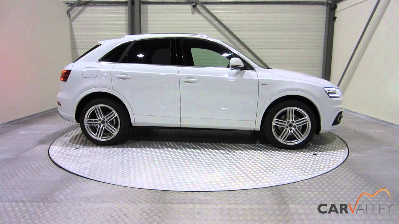 audi q3 2 0 tdi quattro s tronic s line youtube. Black Bedroom Furniture Sets. Home Design Ideas