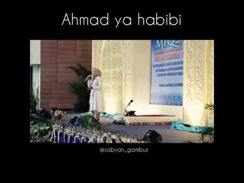 Nissa Sabyan - Ahmad Ya Habibi live