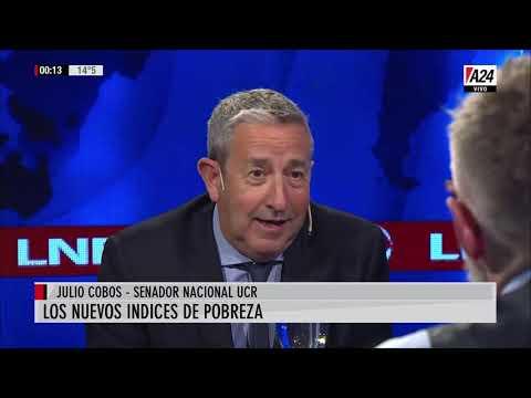 Julio Cobos con Luis Novaresio