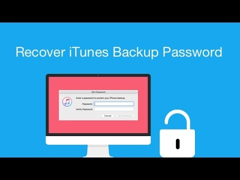 Recover iTunes Backup Password in Minute. Quick & Easy!