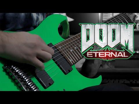 DOOM ETERNAL (OST) - Super Gore Nest (Mick Gordon) // 8 String Guitar Cover