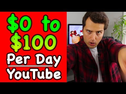 How To Go From $0 to $100/Day On YouTube (Without Showing Your Face)