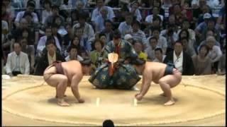 綱取完全消滅 kisenosato goedo sumo.
