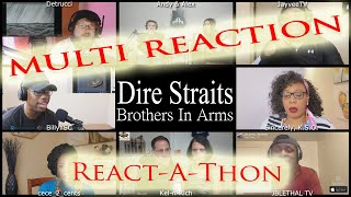 FULL MULTI REACTION Dire Straits Brothers In Arms / MULTI REACT-A-THON