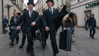 III. Silly Walk march in Brno - 140 walkers! (2014)