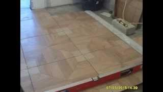 Как качественно и быстро, положить керамическую плитку на пол?   Часть 2.(СОВЕТЫ БЫВАЛЫХ. Нюансы.Маленькие хитрости, при укладке плитки на пол., 2015-04-06T22:59:09.000Z)