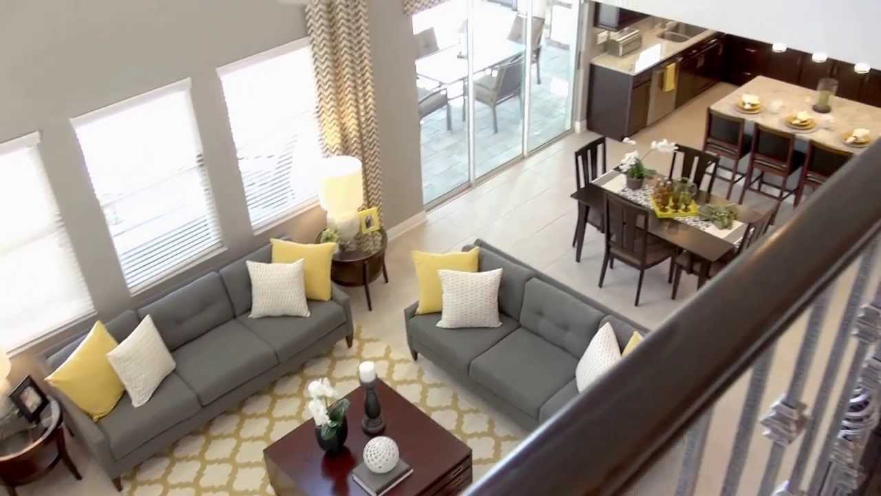 K Hovnanian Home Designs Part - 21: K. HOVNANIAN HOMES -- The Sugarloaf At Southfork - YouTube