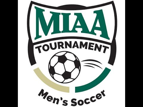 MIAA Men's Soccer Semifinals #3 Trine vs #2 Adrian 10/30/18