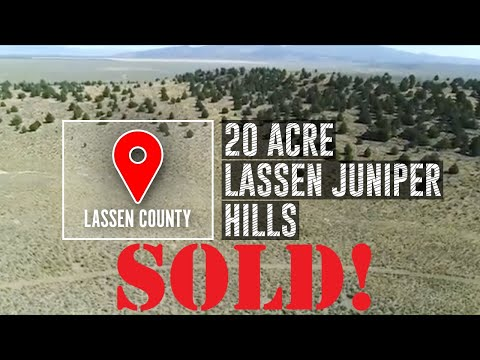 Insane Deal on 20 Acres Lassen County, CA  $13,900.00!